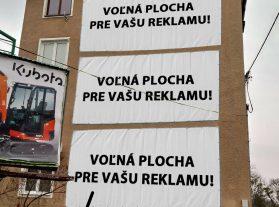 Prenájom billboardov Nové Zámky
